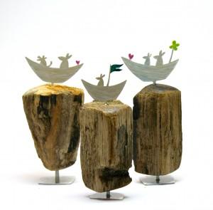 Miniatur-Objekte (ca. 7 cm hoch)