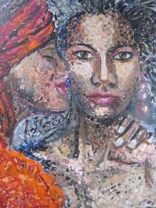 Maria Isabel Brandis 100x120 Mischtechnik