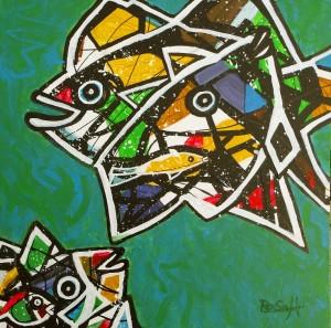 Fünf Fische